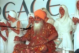 Yogi Bhajan couleur Maître de Kundalinî Yoga