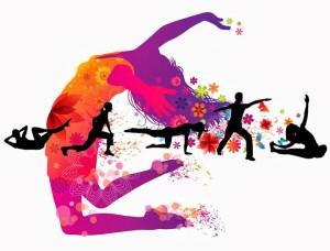 danseuse-couleurs-et-silhouettes-noires